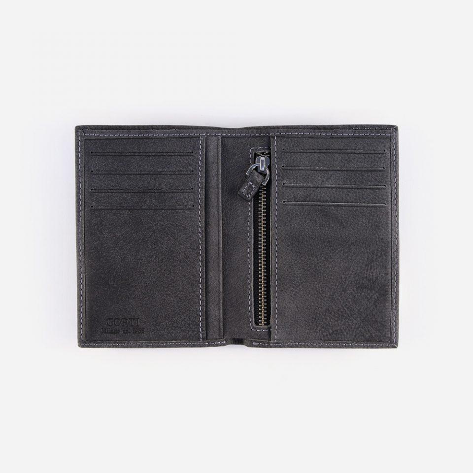 Portafoglio Bufalo – Nero – Aperto – 3335