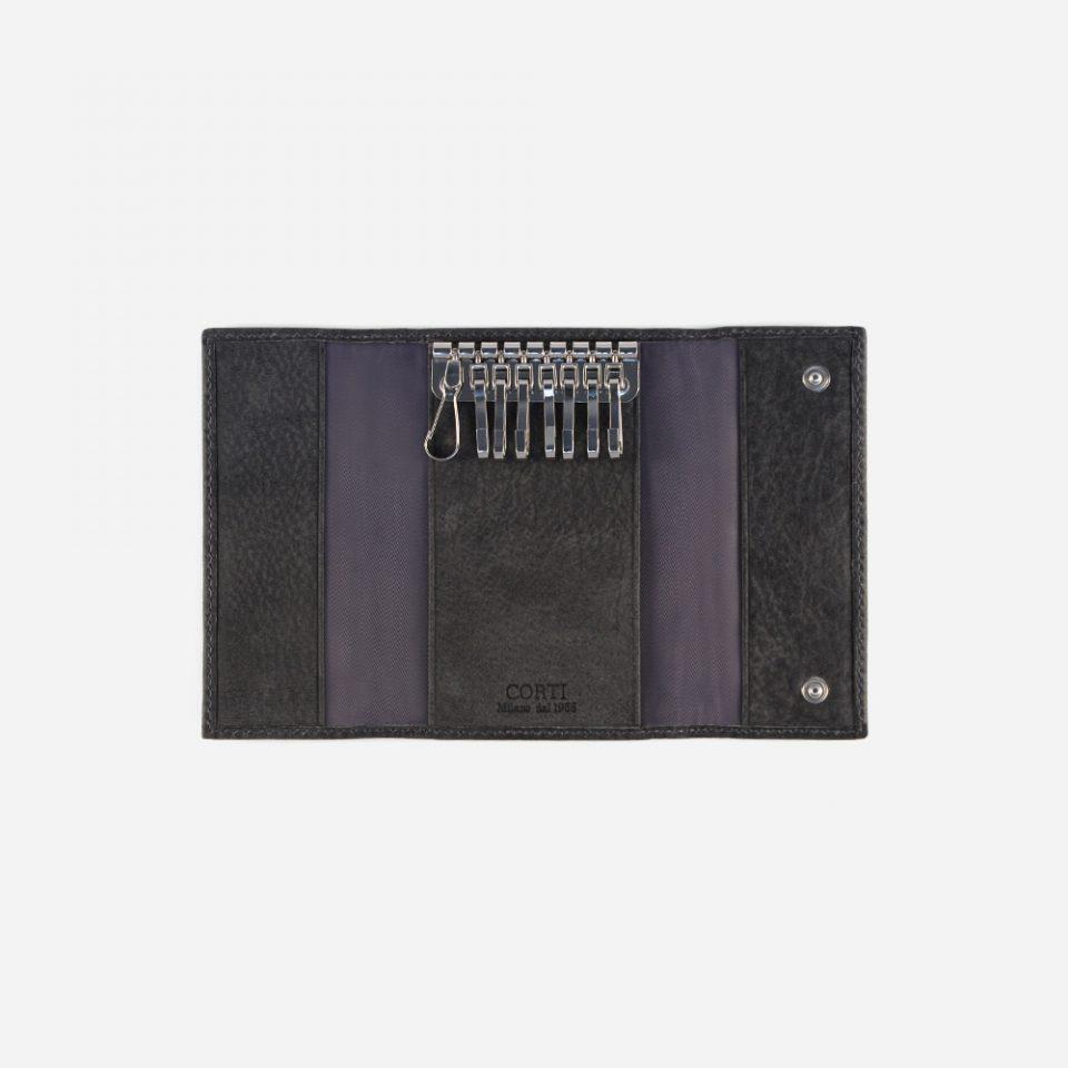 Portachiavi Bufalo – Nero – Aperto – 3382