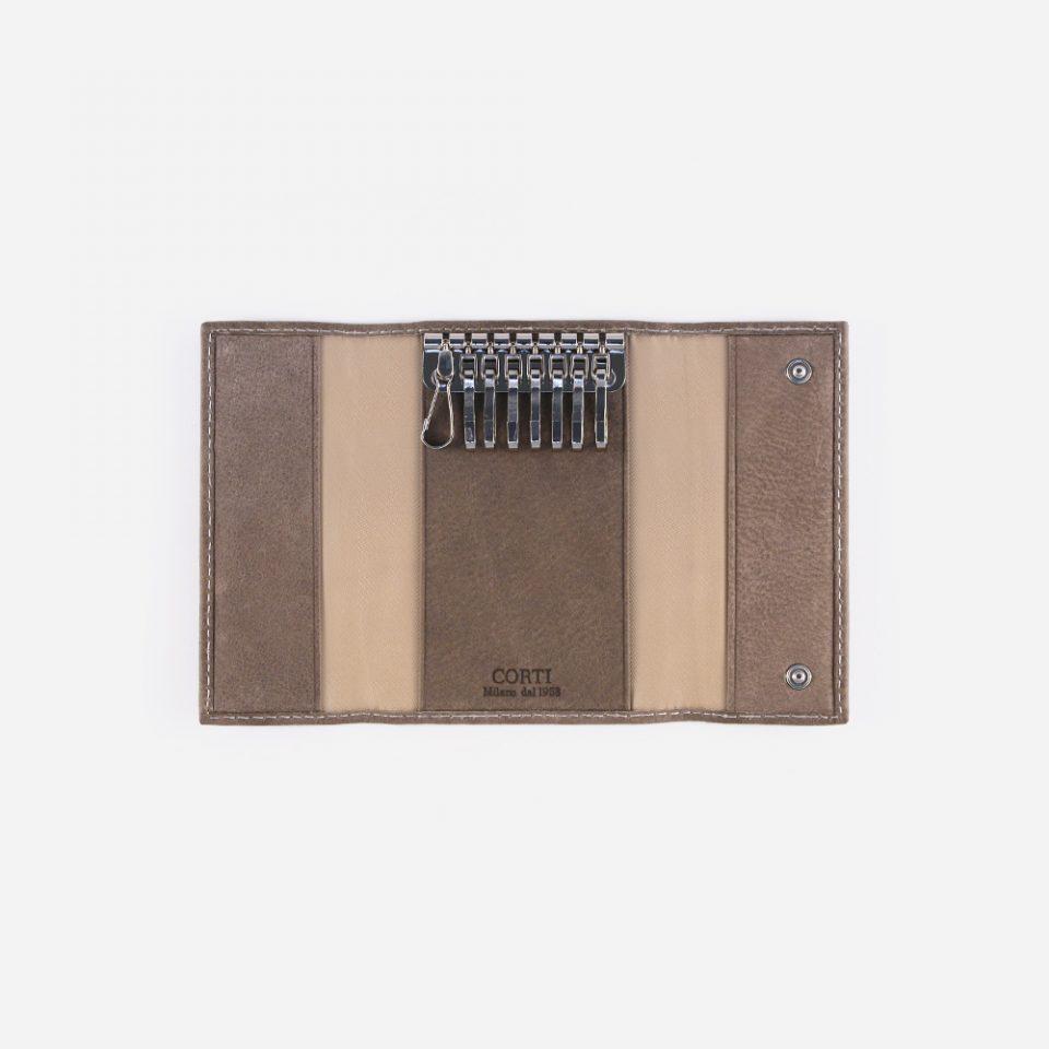 Portachiavi Bufalo – Sabbia – Aperto – 3382