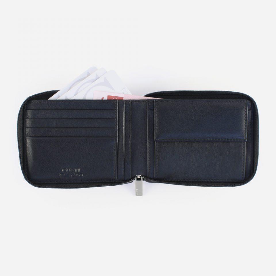 Portafoglio Wild RFID Blocker – Nero – Aperto – 4412