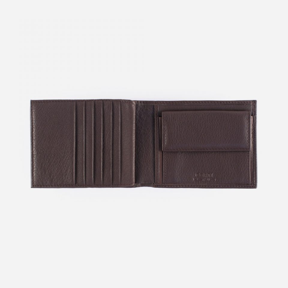 Portafoglio Wild RFID Blocker – Marrone – Monete – 4419
