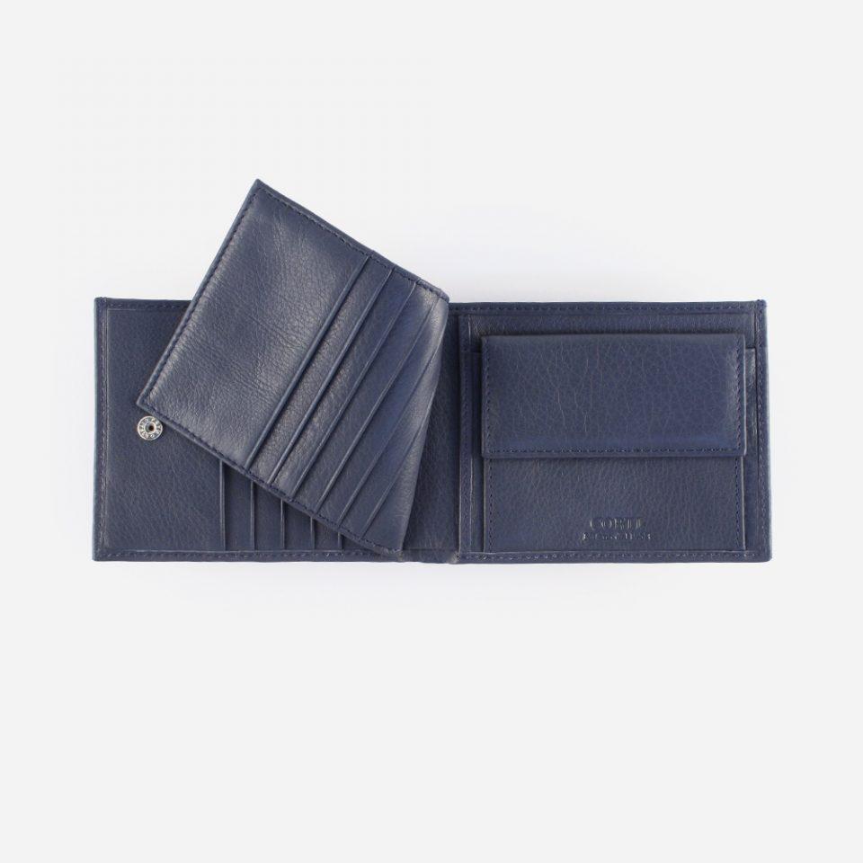 Portafoglio Wild RFID Blocker – Navy – Ribaltina – 4419