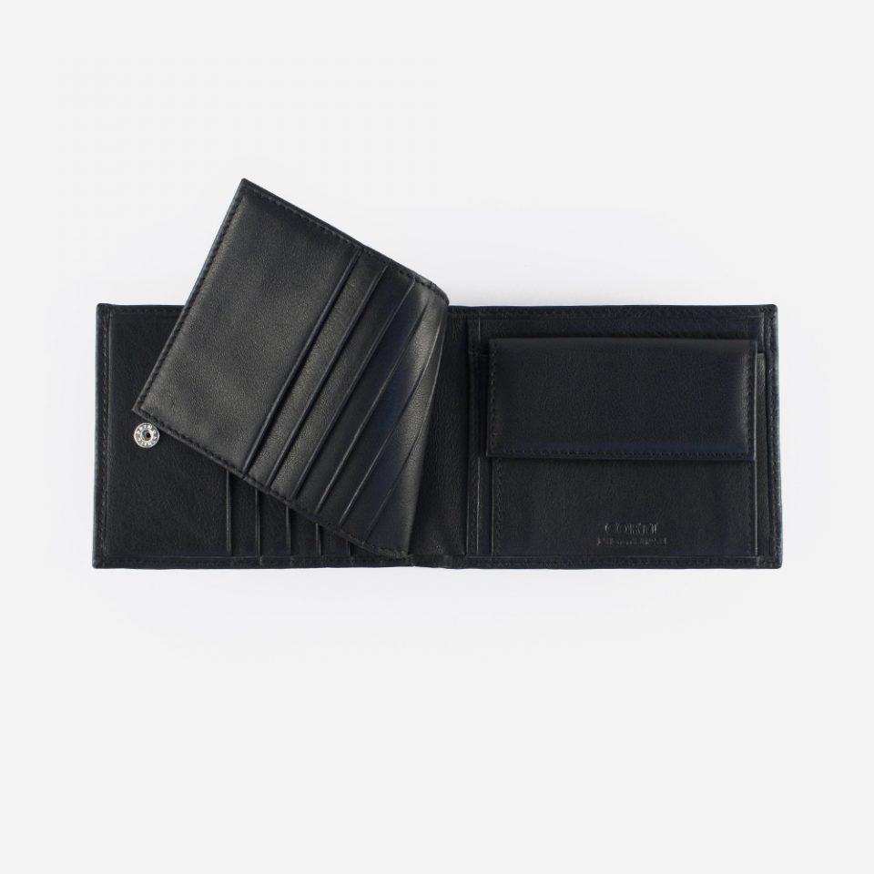Portafoglio Wild RFID Blocker – Nero – Ribaltina – 4419