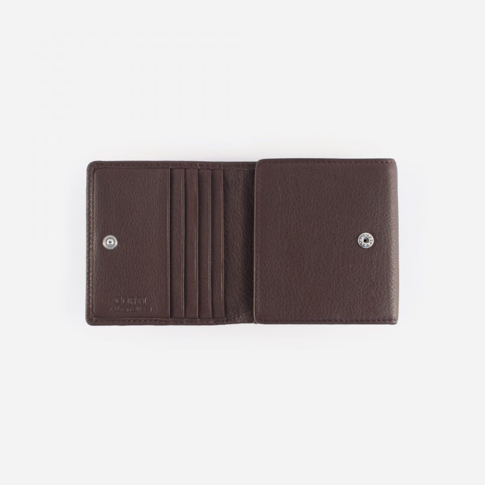 Portafoglio Wild RFID Blocker – Marrone – Aperto – 4442