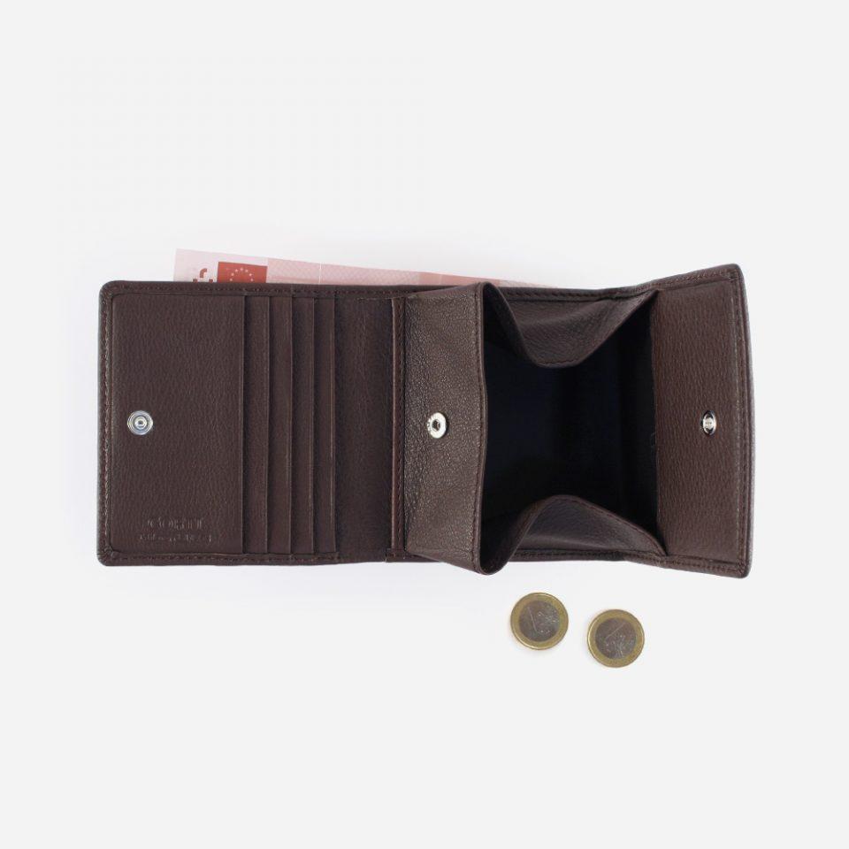 negozio online 02998 3532e Portafoglio slim porta carte e porta monete a pozzetto Wild RFID Blocker