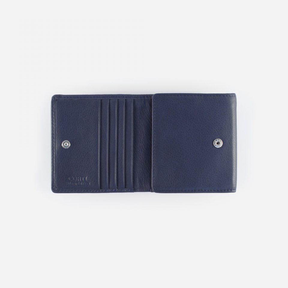 Portafoglio Wild RFID Blocker – Navy – Aperto – 4442