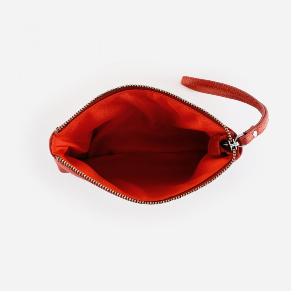 Pochette Alce – Rosso – Aperta – 9953
