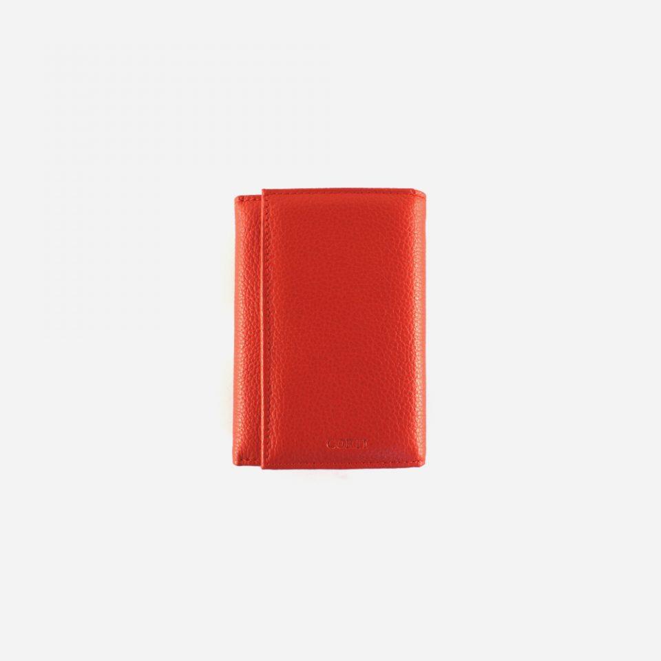 Portafoglio – Glamour – Rosso – Chiuso – 5568