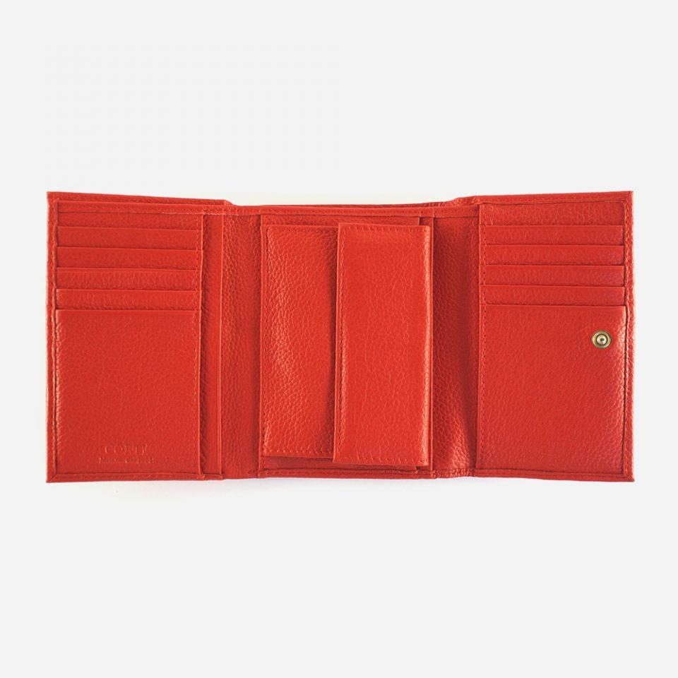 Portafoglio – Glamour – Rosso – Aperto – 5568