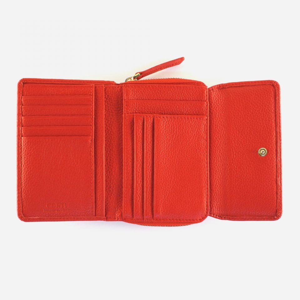 Portafoglio – Glamour – Rosso – Aperto – 5576