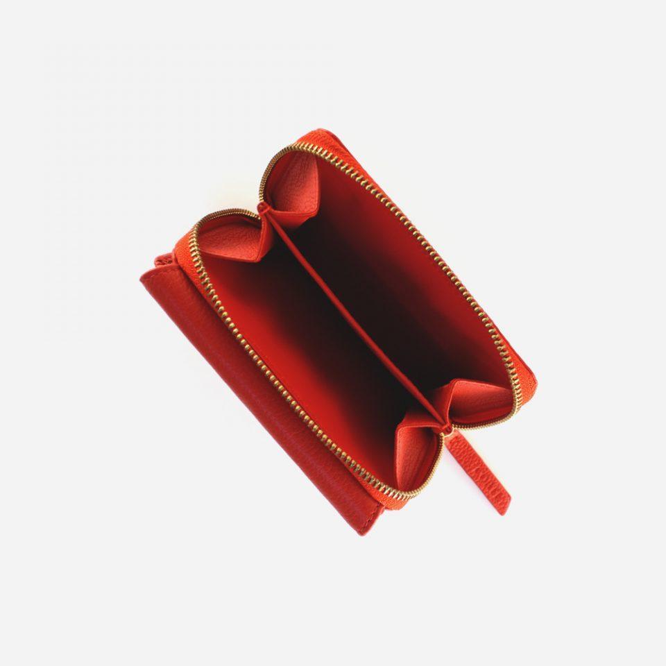 Portafoglio – Glamour – Rosso – Monete – 5576