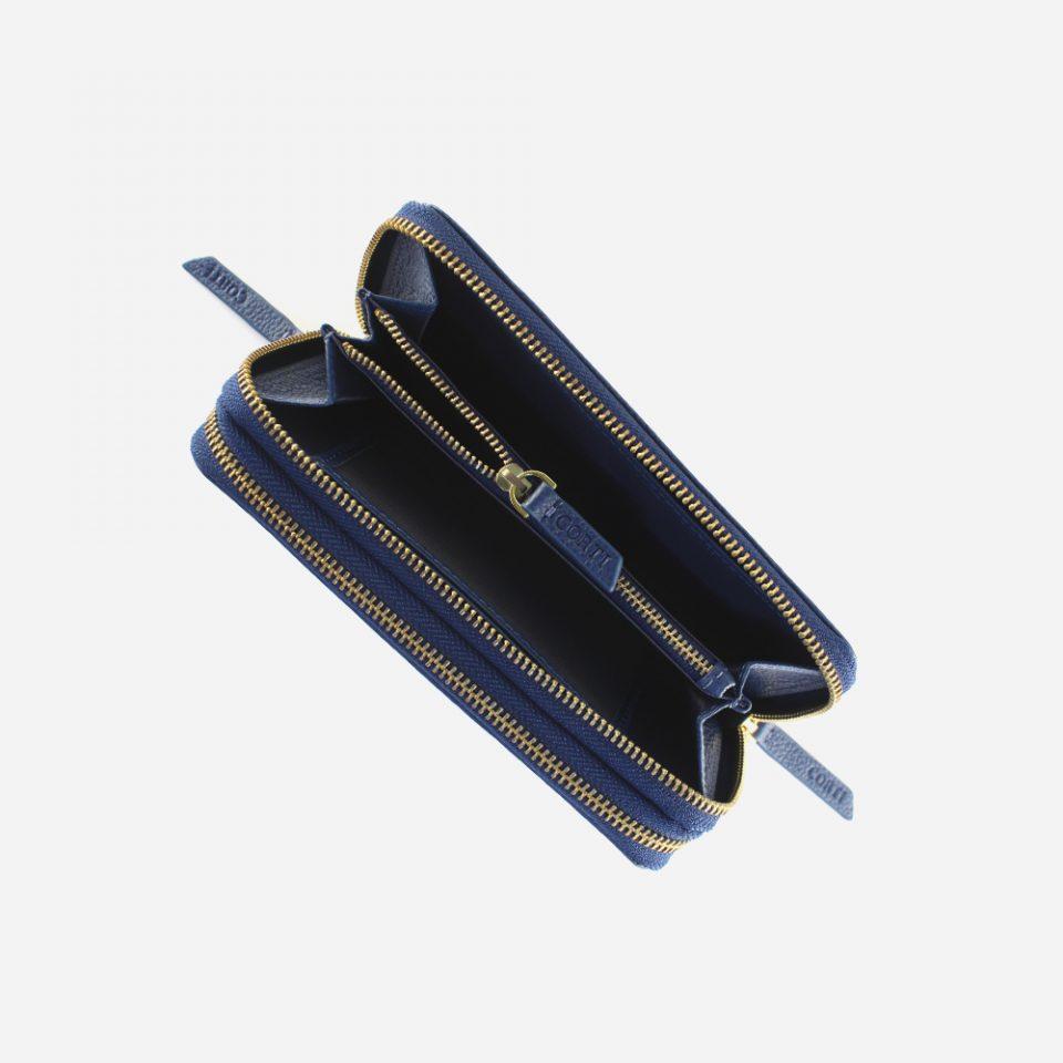 Portafoglio – Glamour – Blu – Moneta – 5577