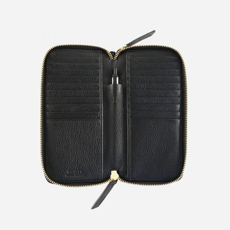 Portafoglio – Glamour – Nero – Aperto – 5577