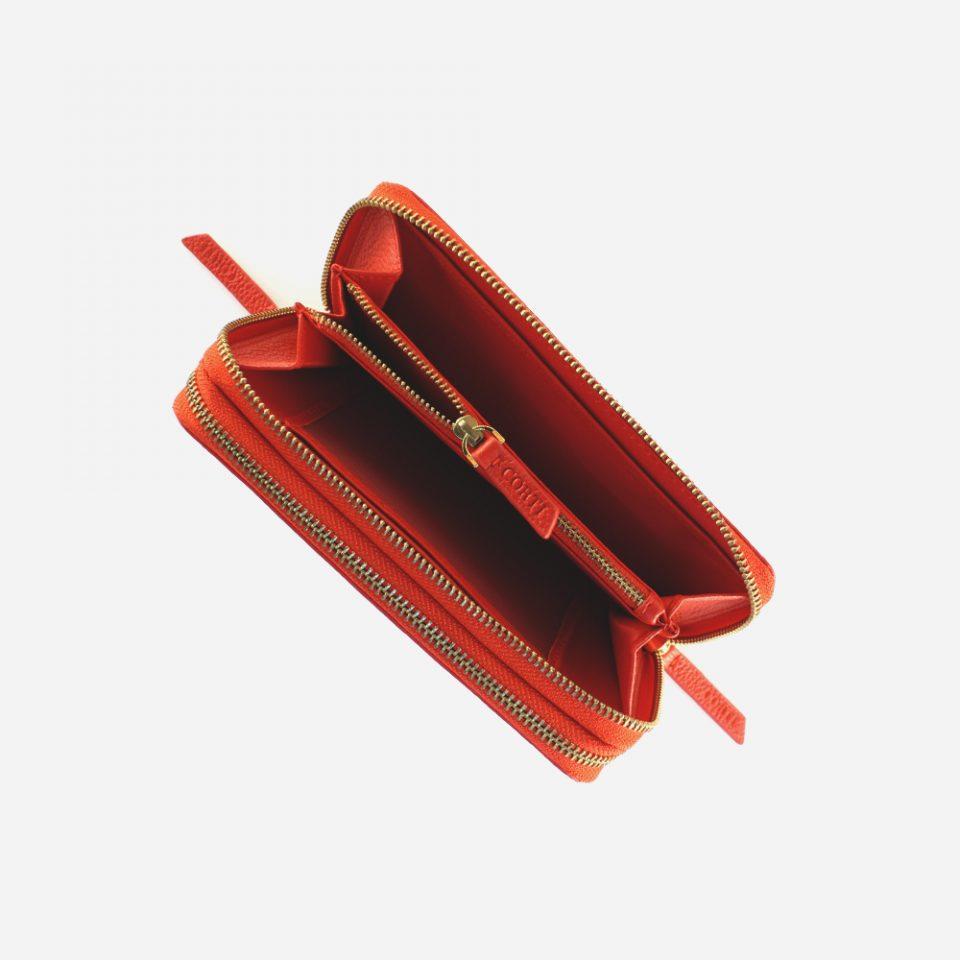Portafoglio – Glamour – Rosso – Moneta – 5577