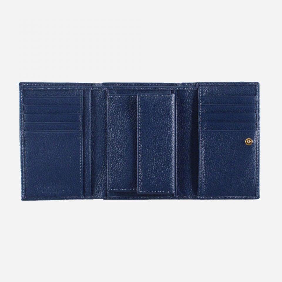 Portafoglio – Glamour – Blu – Aperto – 5568