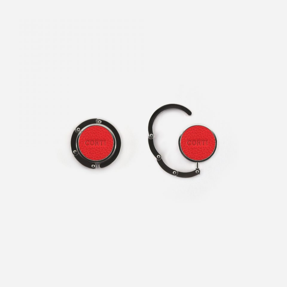 Portaborsa – Gancio – Glamour – Rosso – PB55