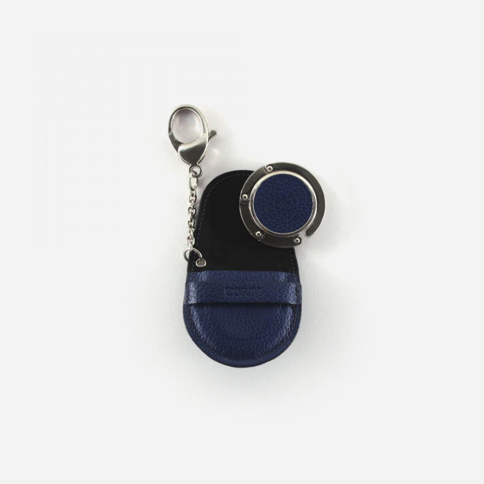 Ciondolo – Portaborsa – Glamour – Blu – Aperto – PBC55