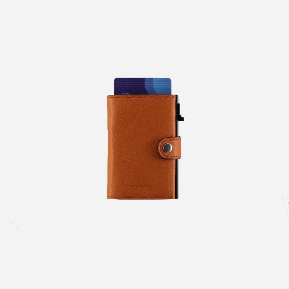 Portacarte – Smart – Wallet – Wild – Arancio – SW11 – Carte