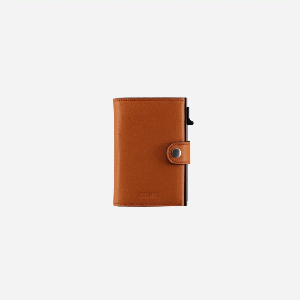 Portacarte – Smart – Wallet – Wild – Arancio – SW11 – Chiuso