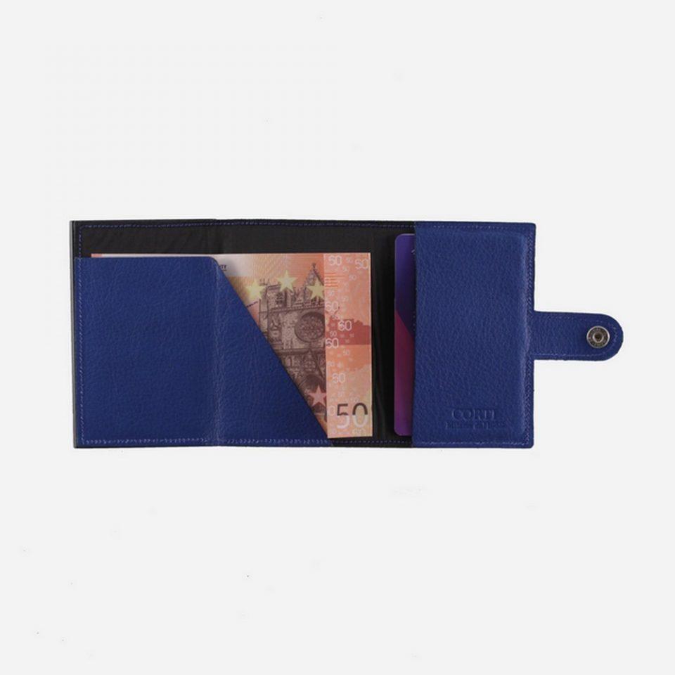 Portacarte – Smart – Wallet – Wild – Blu – SW11 – SolPortacarte – Smart – Wallet – Wild – Blu – SW11 – Soldi