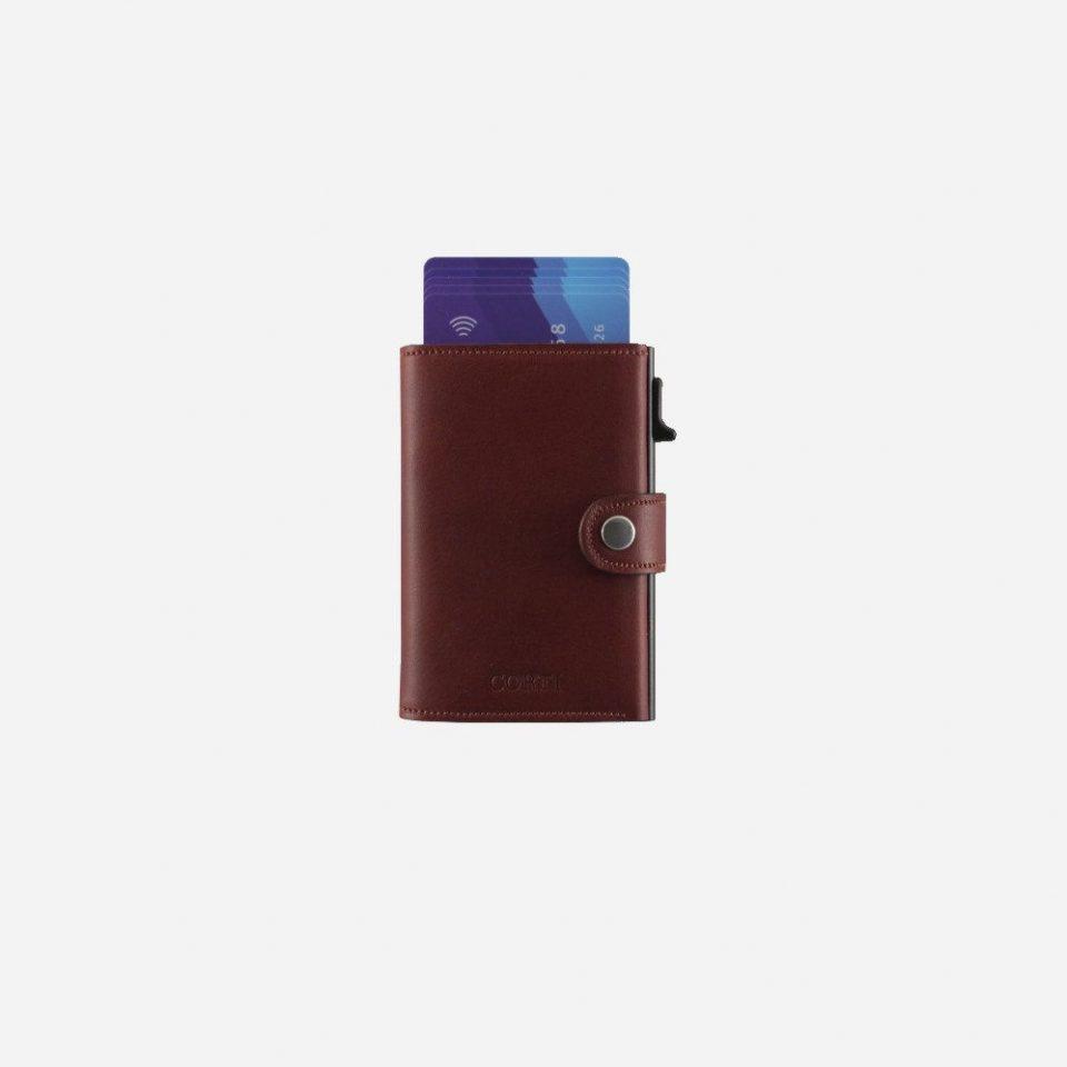 Portacarte – Smart – Wallet – Wild – Cuoio – SW11 – Carte