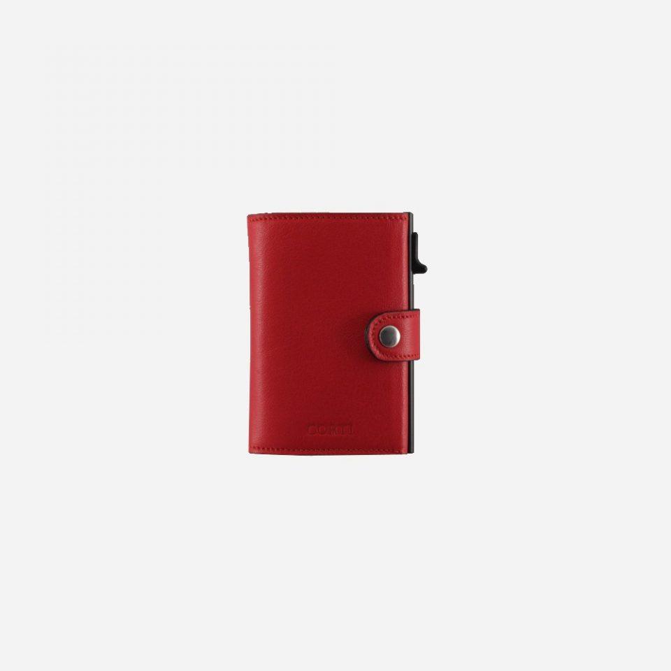 Portacarte – Smart – Wallet – Wild – Rosso – SW11 – Chiuso