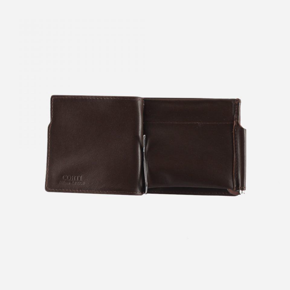 Portafoglio – Classic – Marrone – Aperto – 2243