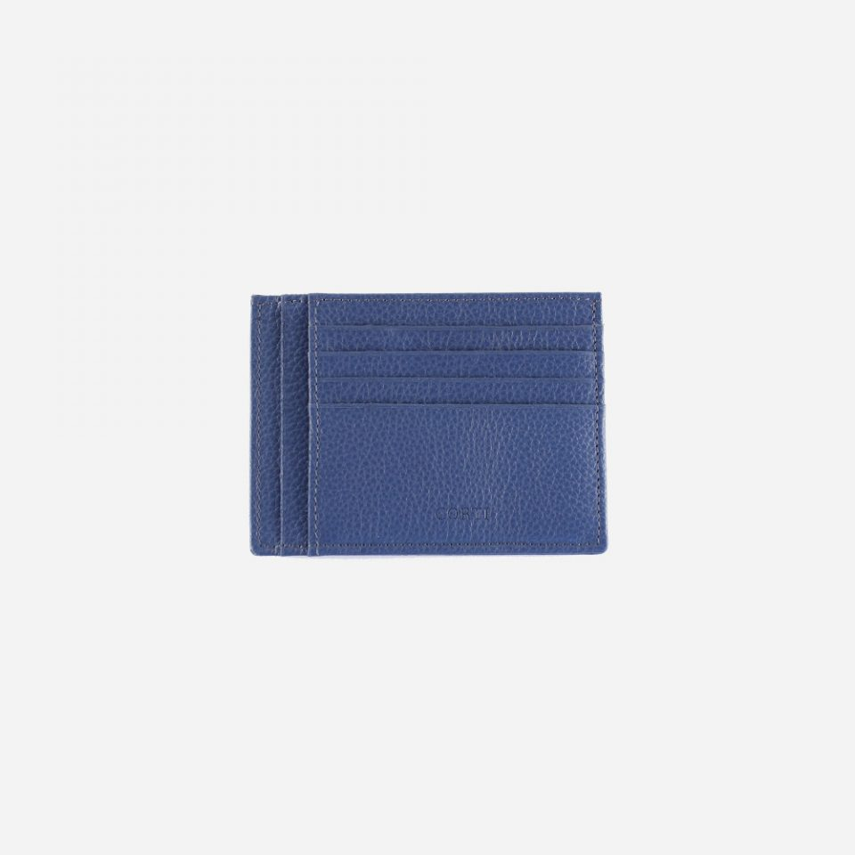 Portacarte – Glamour – Blu – Carte – Fronte – 5534