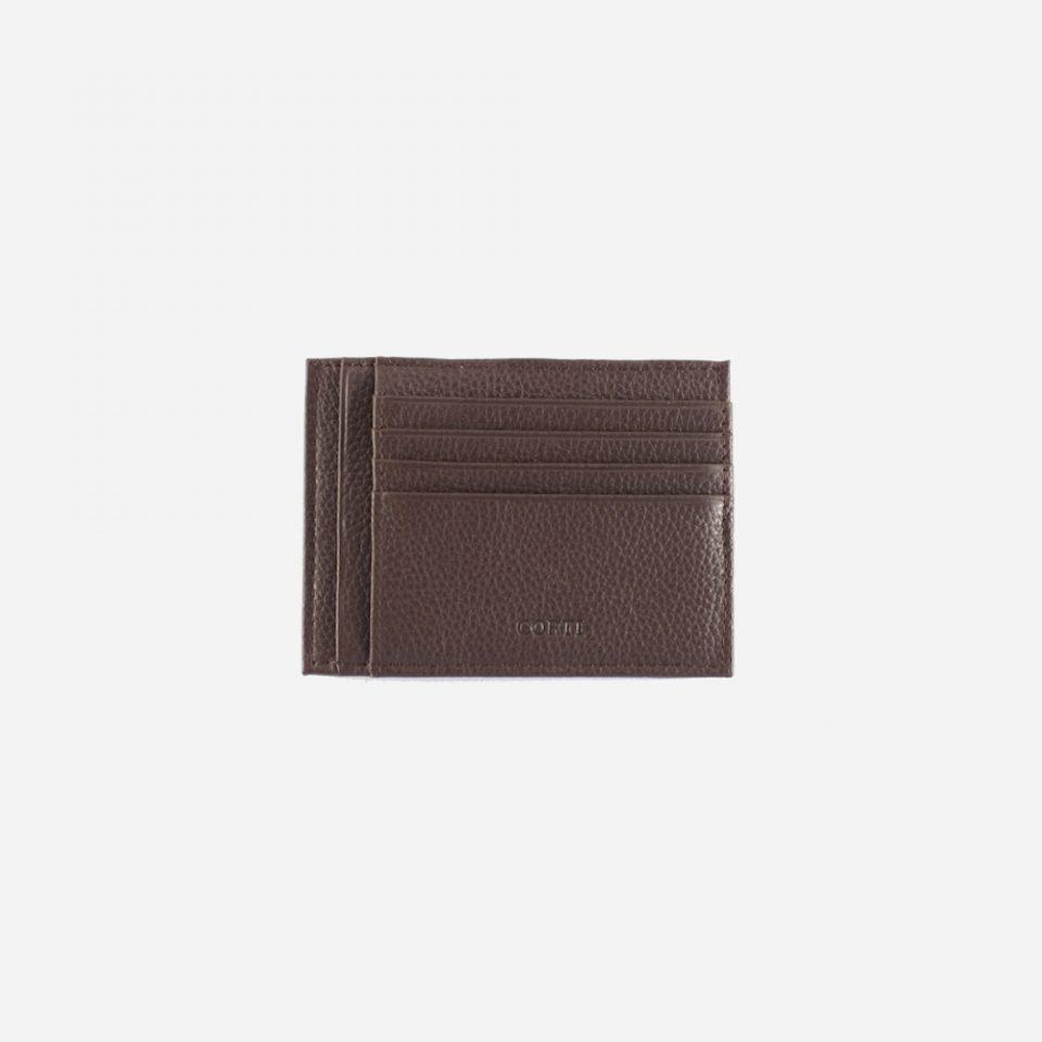 Portacarte – Glamour – Marrone – Carte – Fronte – 5534