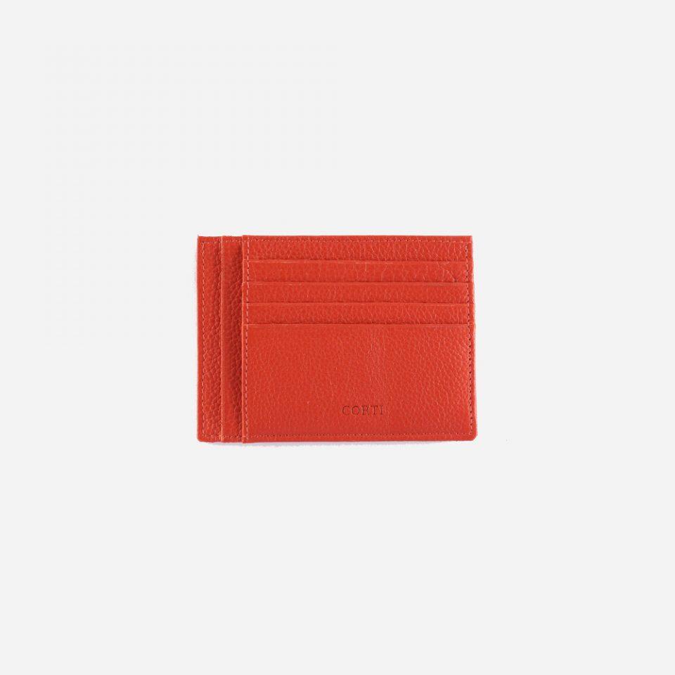 Portacarte – Glamour – Rosso – Carte – Retro – 5534