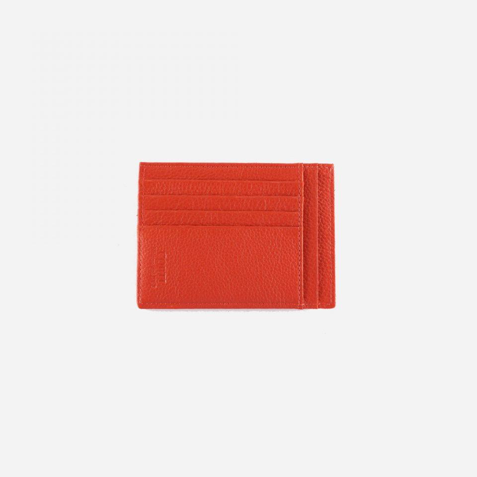 Portacarte – Glamour – Rosso – Carte – Fronte – 5534