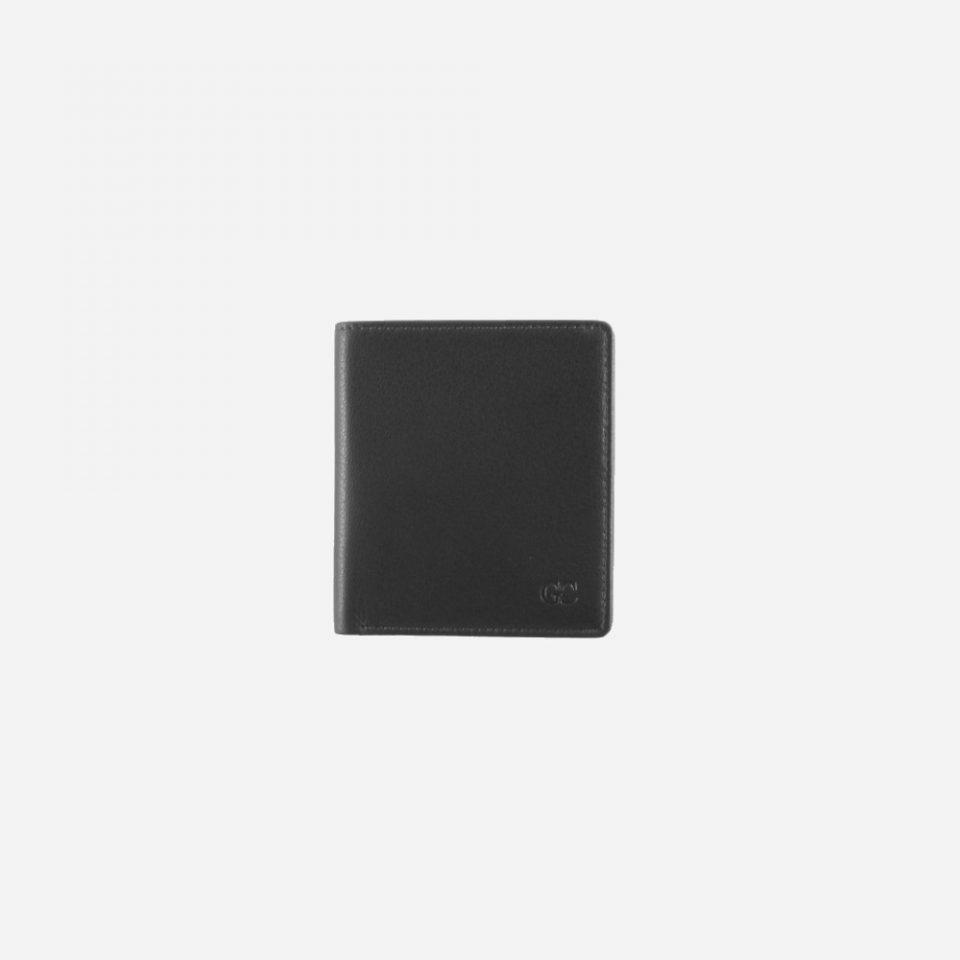 Portafoglio – Basic – Carte – Monete – 7748 – Chiuso – Nero