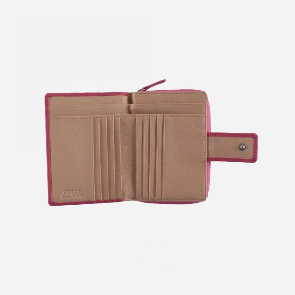 Portafoglio – BiColor – Carte – 1176 – Fuxia