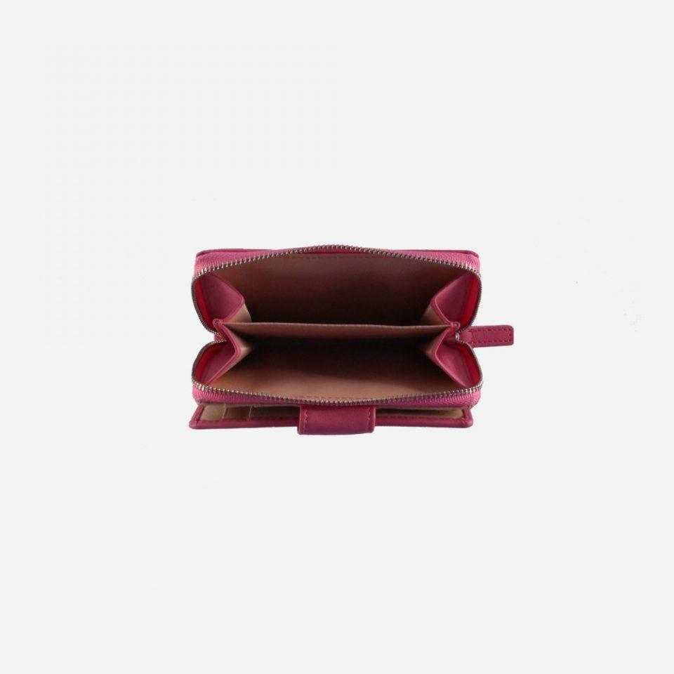 Portafoglio – BiColor – Monete – 1176 – Fuxia