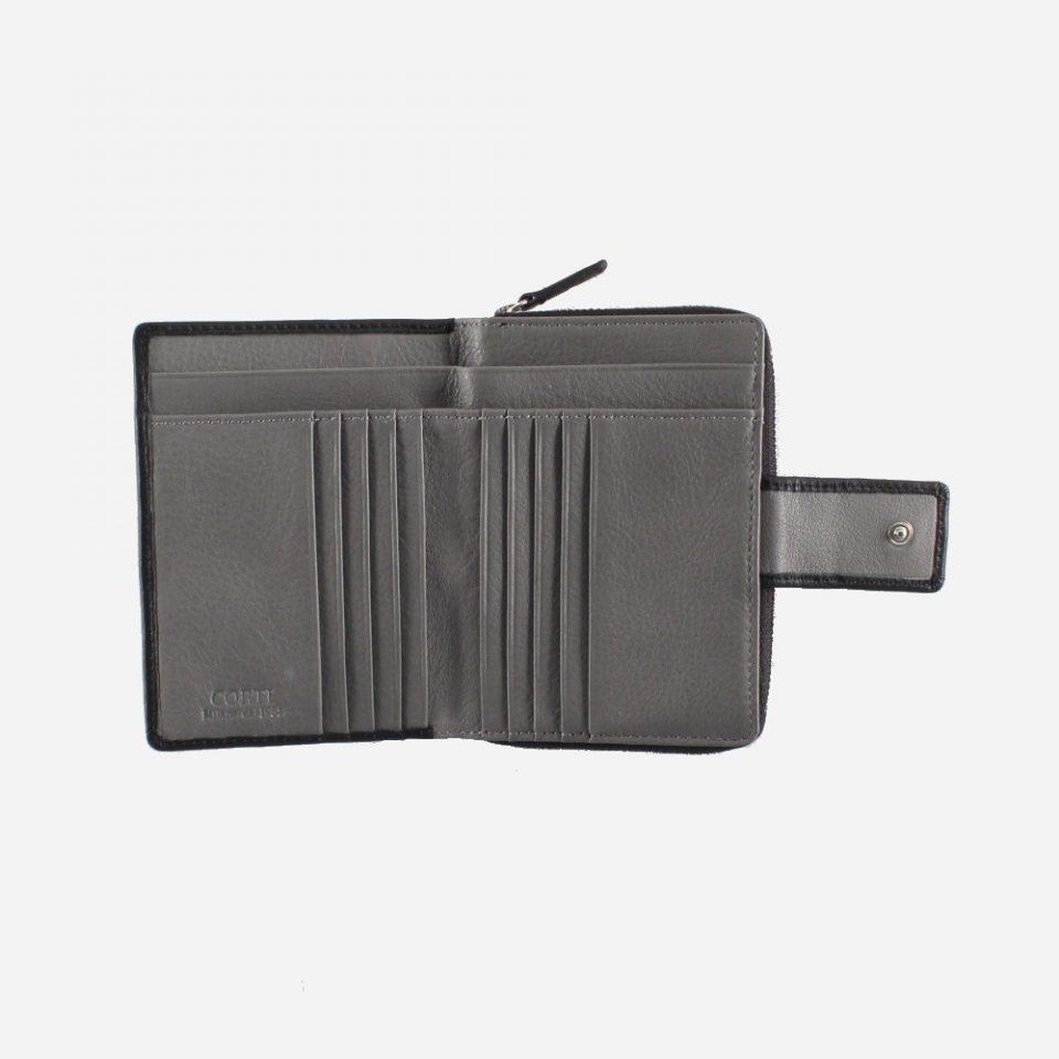 Portafoglio – BiColor – Carte – 1176 – Nero