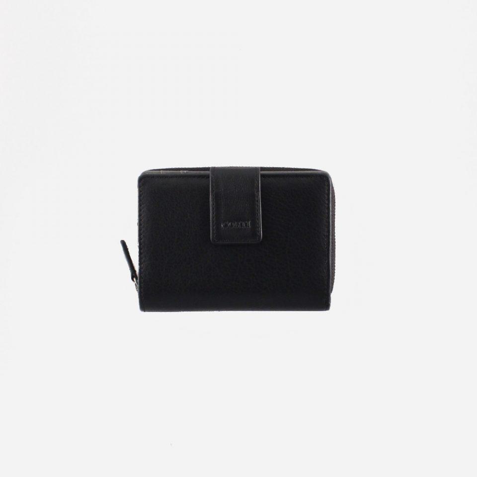 Portafoglio – BiColor – Chiuso – 1176 – Nero