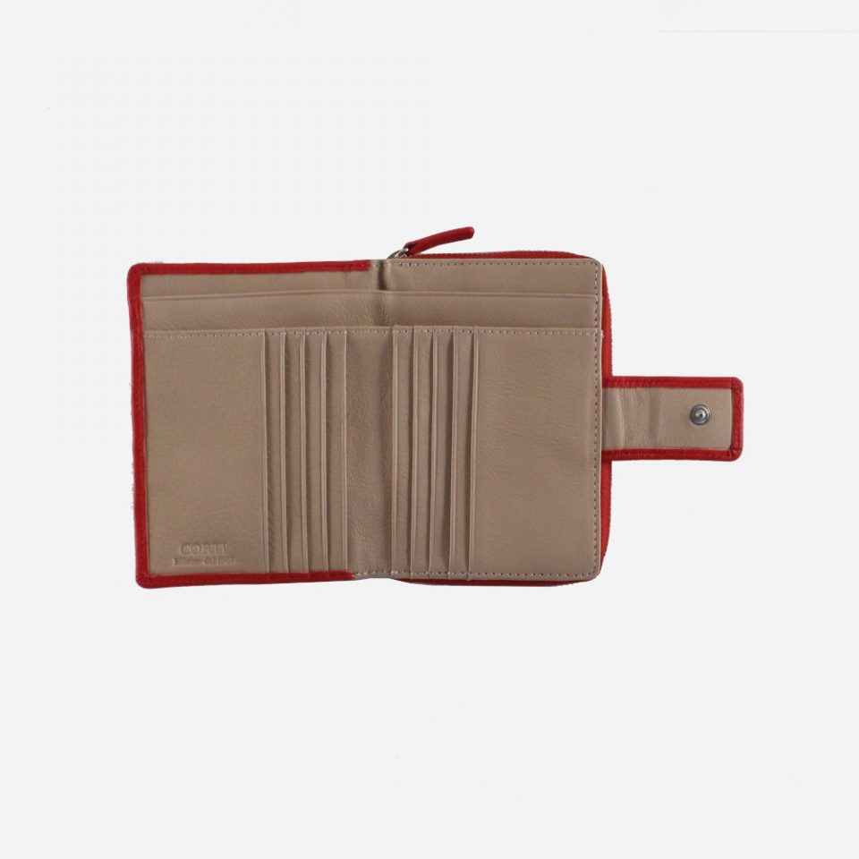 Portafoglio – BiColor – Carte – 1176 – Rosso
