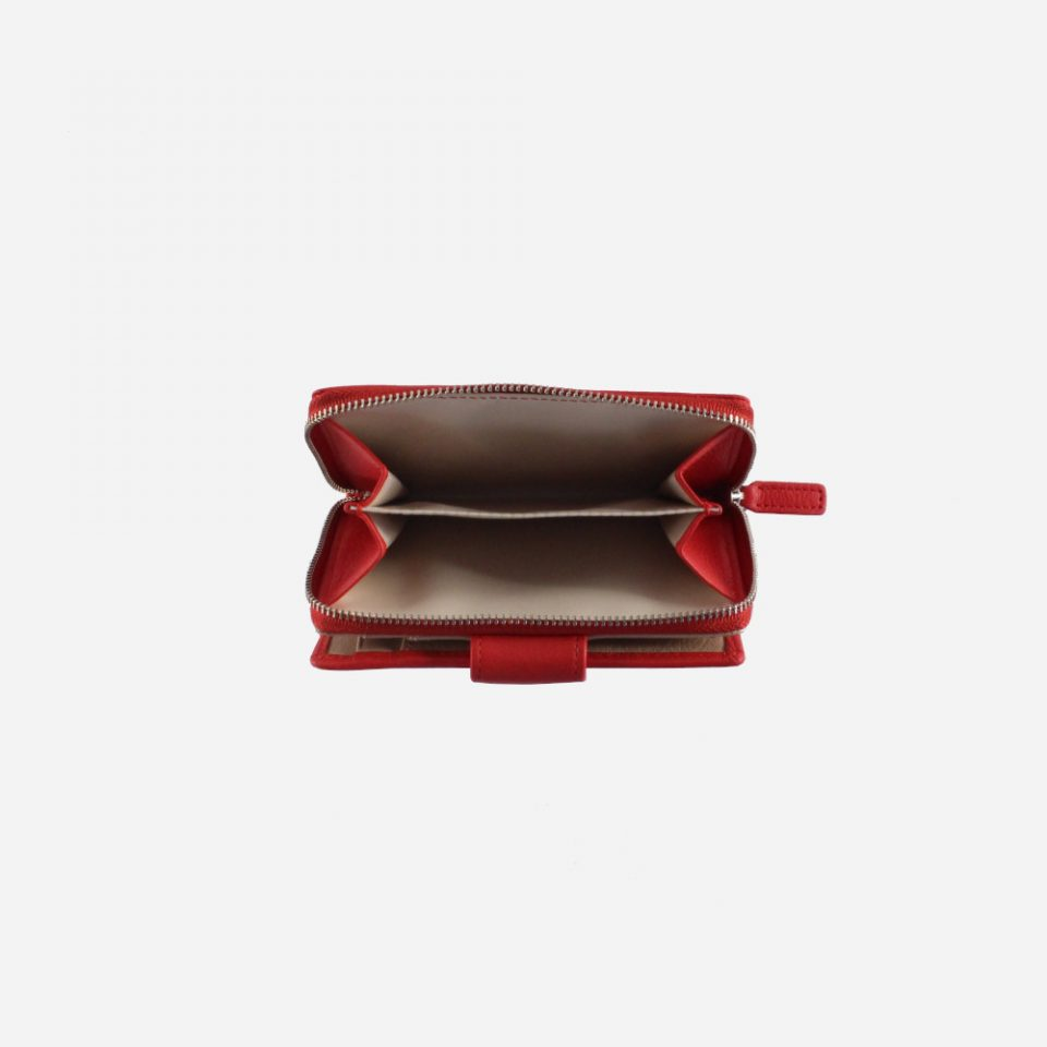 Portafoglio – BiColor – Monete – 1176 – Rosso
