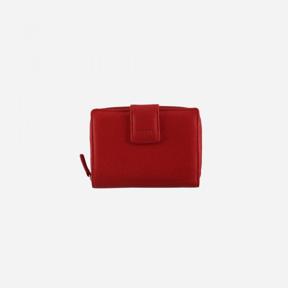 Portafoglio – BiColor – Chiuso – 1176 – Rosso