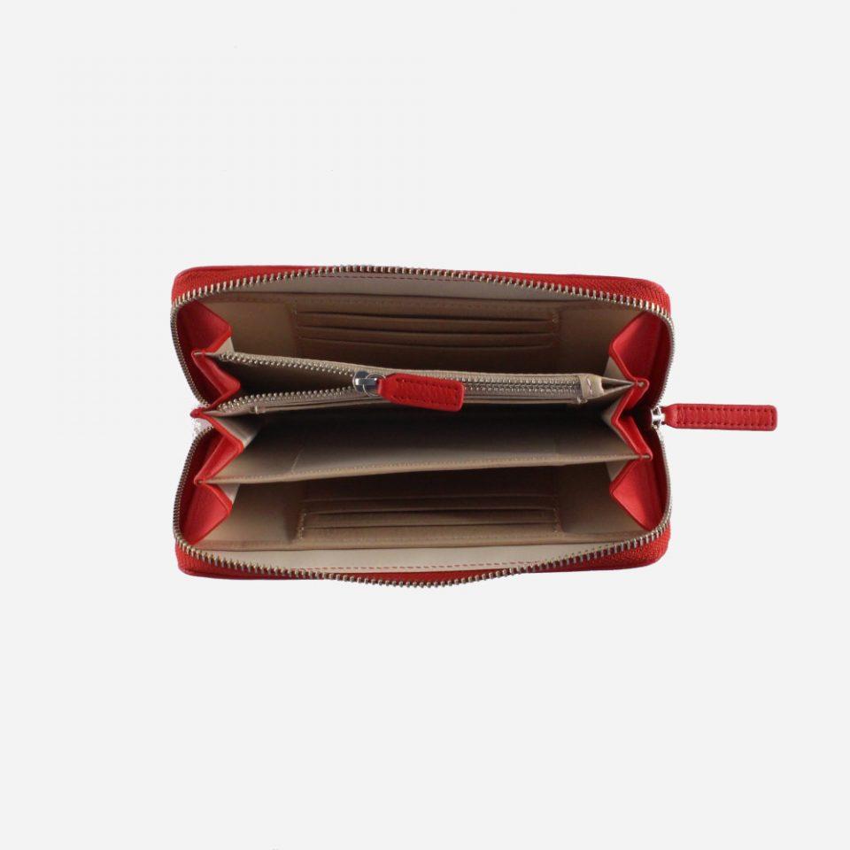 Portafoglio – BiColor – Aperto – 1178 – Rosso