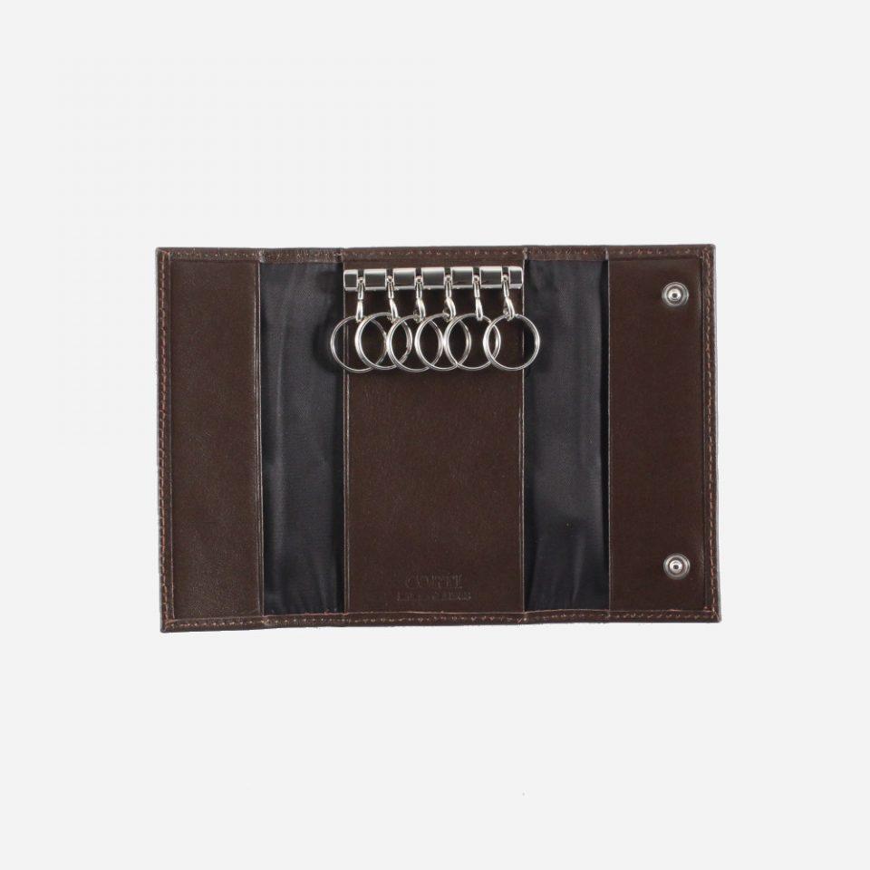 Portachiavi – 6 anelli – Classic – Aperto – 2280 – Marrone