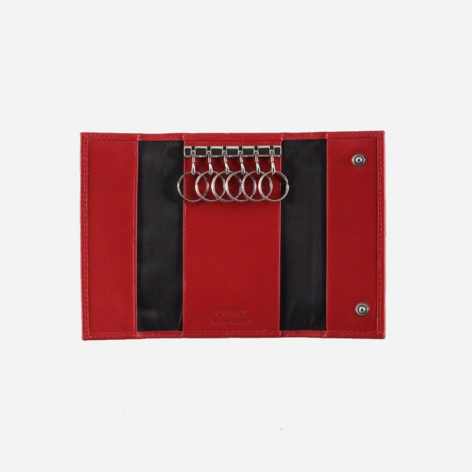 Portachiavi – 6 anelli – Classic – Aperto – 2280 – Rosso