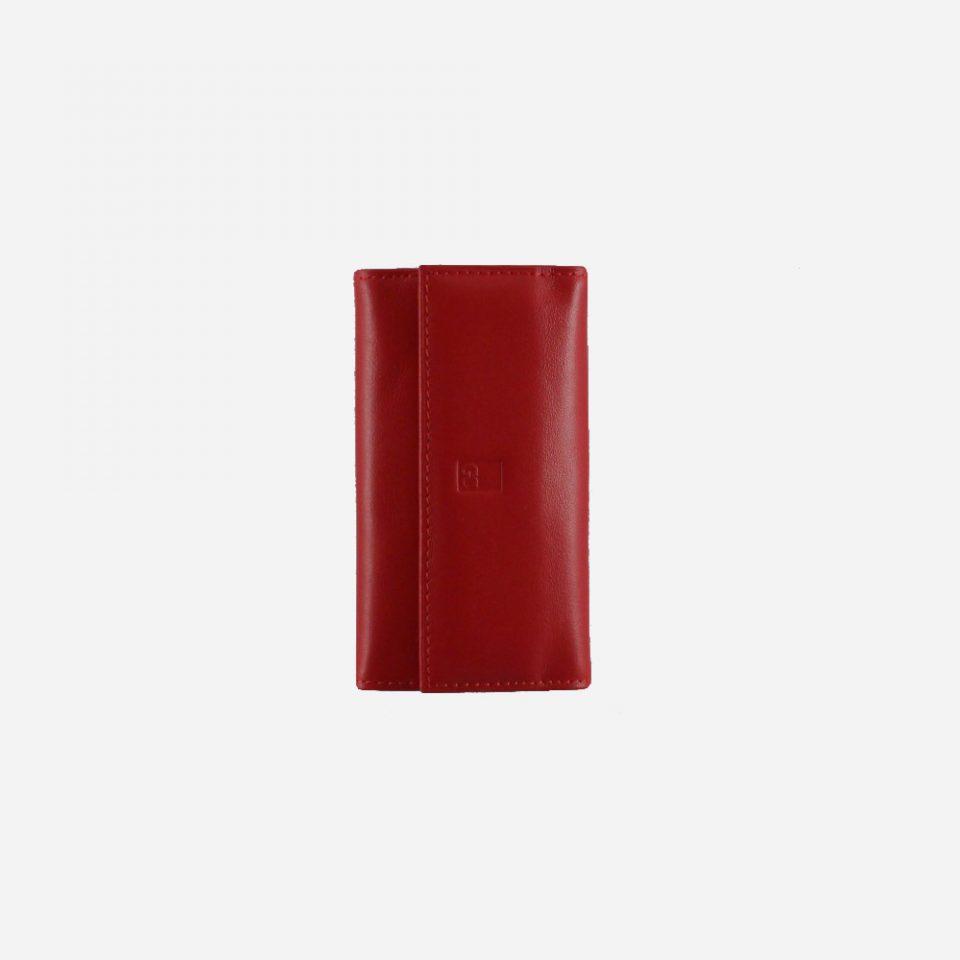 Portachiavi – 6 anelli – Classic – Chiuso – 2280 – Rosso