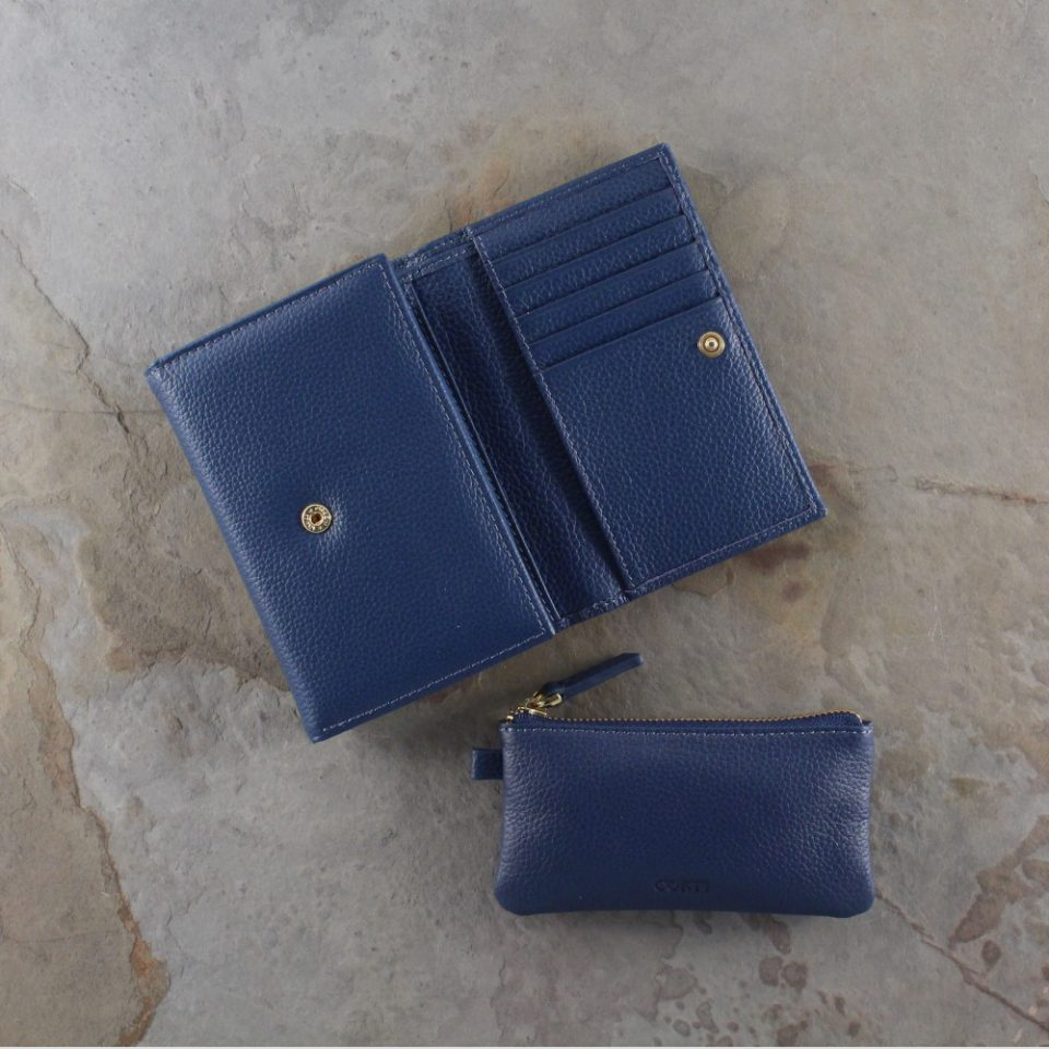 Portafoglio – Portachiavi – Gift box – Glamour – 5568 – 5588 – Blu