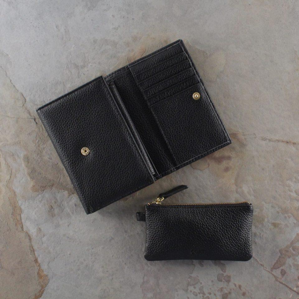 Portafoglio – Portachiavi – Gift box – Glamour – 5568 – 5588 – Nero