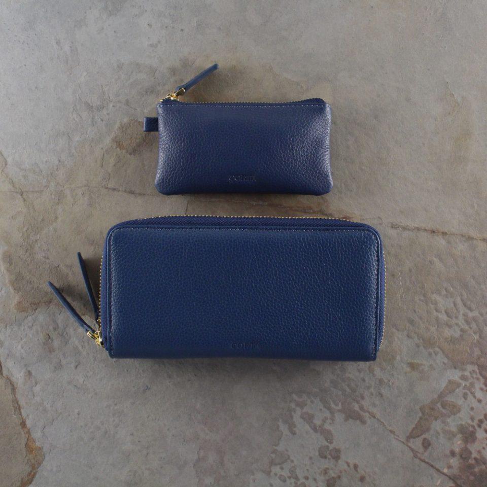 Portafoglio – Portachiavi – Gift box – Glamour – 5577 – 5588 – Blu