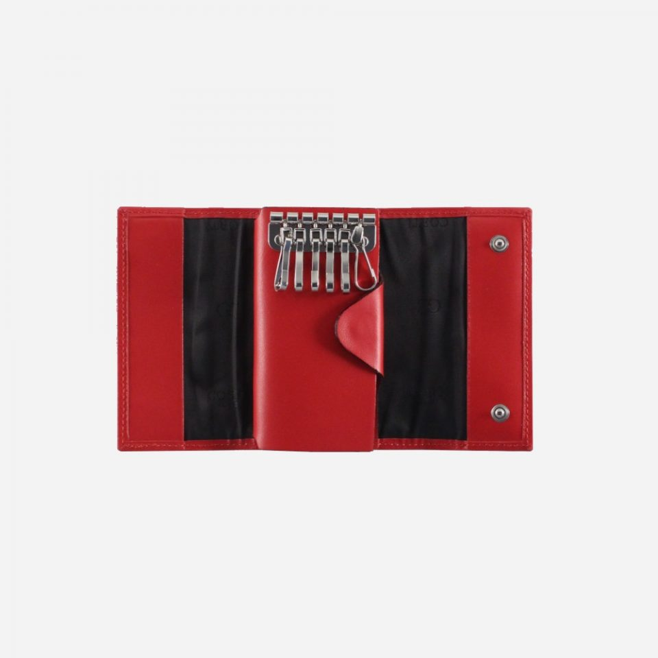 Portachiavi – 12 ganci – Classic – Aperto – 2283 – Rosso
