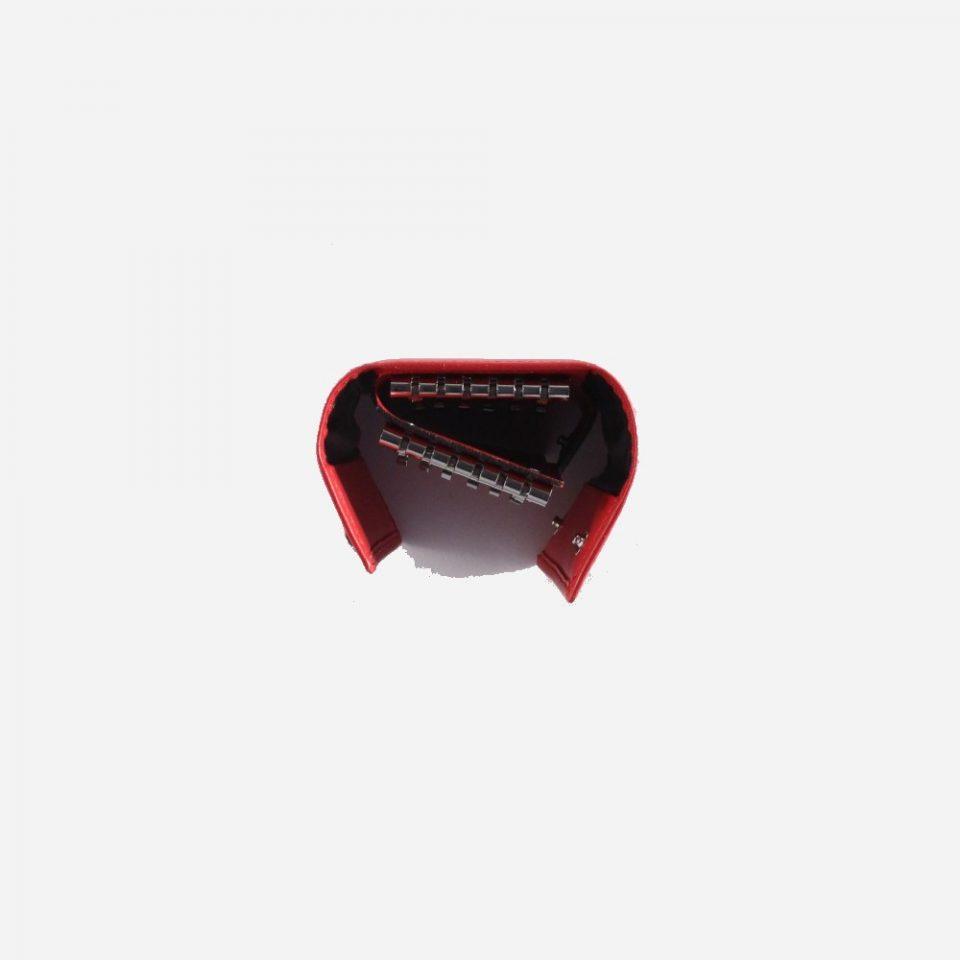 Portachiavi – 12 ganci – Classic – Alto – 2283 – Rosso