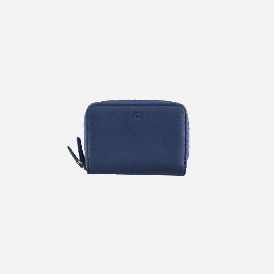 Portafoglio – RFID Safe – Carte – Monete – Zip Around – 4474 – Chiuso – Jeans