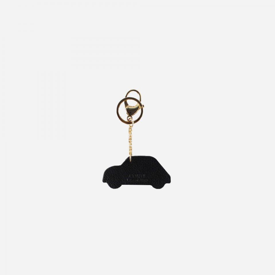 Ciondolo – Portachiavi – Glamour – Dietro – 5595 – Nero